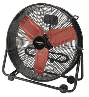 Pinnacle Products PT 24 DDF A 24 Cart Mounted Barrel Fan w Adjustable