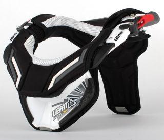 Leatt DBX Comp III Neck Brace Motorcycle Motocross White BMX Mtn Bike