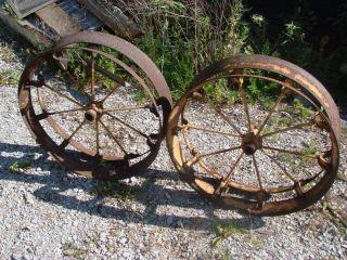 30 Case Tractor Rim Drive Pulley Corn Planter Press Wheels Iron