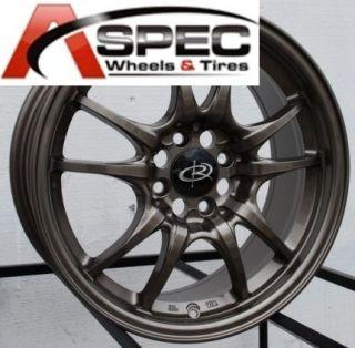 Rota Circuit 10 16x7 4x100 E45 Bronze JDM Wheels Rims