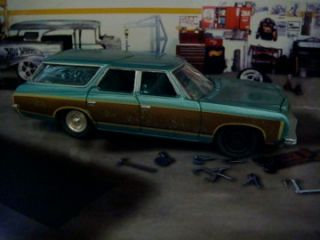 73 Chevrolet Caprice Classic Estate Wagon Project 1 64 EDT 4 Detailed