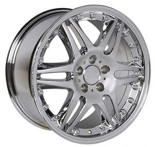 18 Rim Fits Mercedes Benz Wheel Chrome