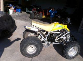 Rear Wheels Rims Tires 2000 Yamaha Blaster YFS 200