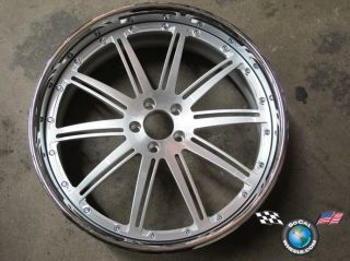 One Auto Couture Exxcel 22 Custom Wheel Rim 22x9 Brushed Face MBZ