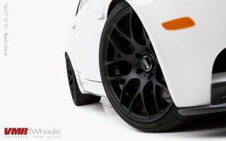 18x8 5 9 5 VMR 710 Staggered Matte Black Wheel 5x120 Fit BMW 325 328