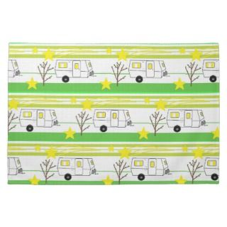 Vintage Travel Trailers Towels