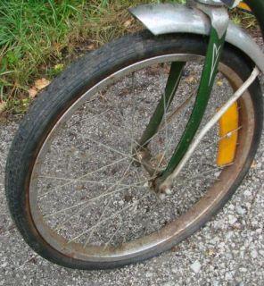 Vtg Schwinn Lil Chik Green Frame Girls Bike Bicycle 1972 Sting Ray 20