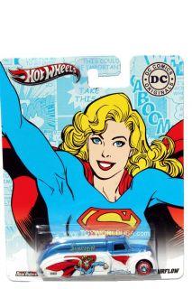 2012 Hot Wheels DC Comics Originals 1938 Dodge Airflow Supergirl
