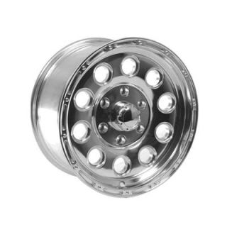 Summit Racing 185 6884P Wheel, 185 Series, Aluminum, Polished, 16 in