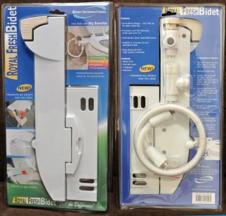 Royal Fresh Bidet Non Electric Mechanical Lever Toilet Bidet Kit