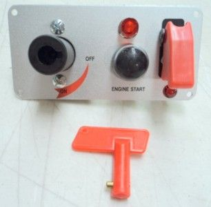 Racing Switch Panel Push Button Start Aircraft Toggle Battery