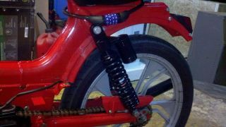 Tomos Sapporo Style Tail Light for Mopeds and Cafe Style Moped Motion