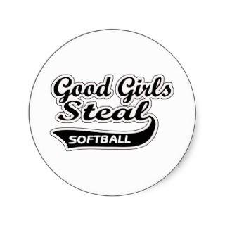 Good Girls Steal (black) Stickers