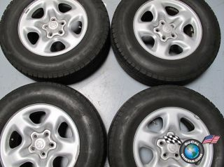 RAV4 Rav 4 Factory 16 Steel Wheels Tires Rims 69405 Highlander