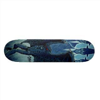 Mothman/MIB Skate Board Decks