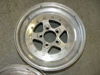 WELD AlumaStar Wheels Aluminum Polished 15x10 ,5x4.5 Bolt Circle 8