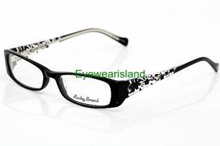 Lucky Brand Michelle Eyeglasses Black Optical Frame