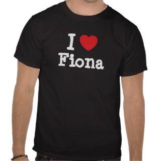 love Fiona heart T Shirt