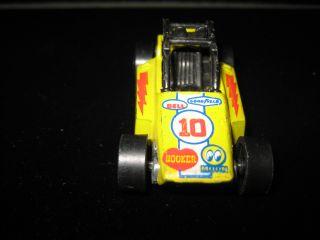 Redline Hot Wheels Yellow Rock Buster Redliner Car Hotwheels 1975