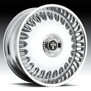 24 inch Dub Big Billionaire Rims and Tires Suburban F150 Frontier
