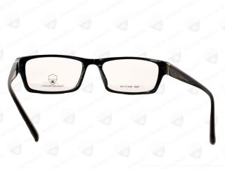 Republic Eyeglass Metal Acetate Frame Mens Full Rim Black T260