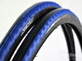 Pair Kenda Kadence Road Bike Tire Tyres 700x23c 700c Blue