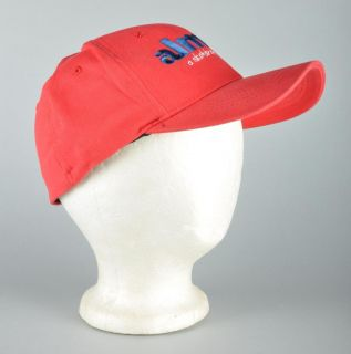 Almost Skateboards Red Skate Baseball Cap Hat s M
