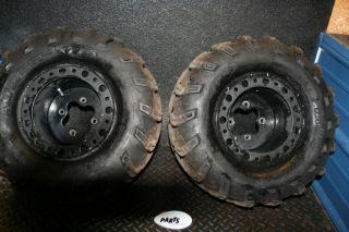 KFX450 KFX 450 450R ITP Rear Wheels Rims Tires