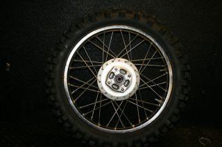 TTR125 TTR 125L Rear Wheel Hub Rim Spokes