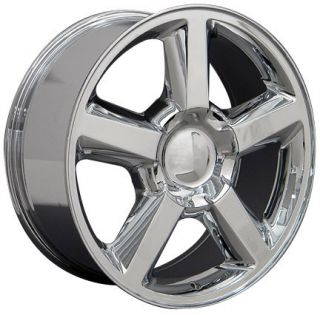 20 Chrome Tahoe Suburban Wheels Tires Fits Chevrolet GMC Cadillac