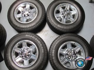 Dodge Ram 2500 3500 Factory 17 Wheels Tires OEM Rims 2384 1HL36TRMAA