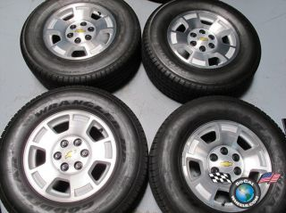 10 Chevy Tahoe 1500 Silverado Factory 17 Wheels Tires Rims 5299