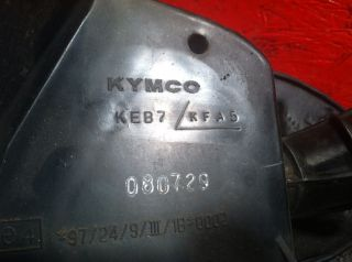 Kymco Super 9 50cc Scooter Airbox Air Filter Housing Intake Box Moped