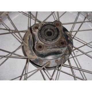 81 Honda XL185 XL 185 s Rear Tire Wheel Spokes Rim