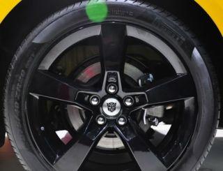 New Genuine GM Chevy Camaro Black 20 inch Transformers Edition Wheels