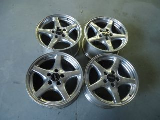 98 00 WS6 Wheels Polished Rims 17x9 OEM Factory Near Perfect Trans Am