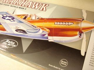 Guillows P 40 Warhawk F F Model Airplane Kit Kit 405