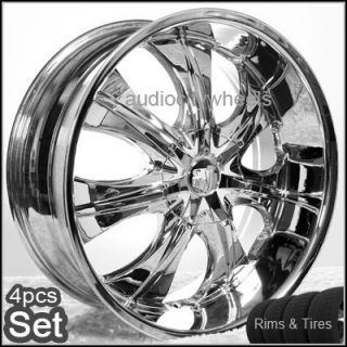 24inch Rims and Tires Wheels Rims 300C Magnum Charger