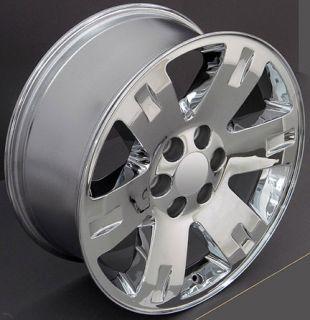 Yukon Wheels Goodyear 275 55 Tires Rims Fit GMC Cadillac Chevy