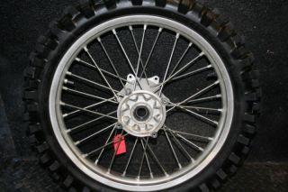 CRF450 CRF 450 CRF250 Rear Wheel Hub Rim Spokes