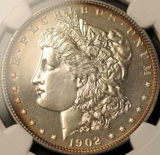 1902 $1 Proof Morgan Silver Dollar NGC PF 65