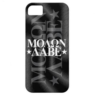 Molon Labe   iPhone 5 Case   BLACK