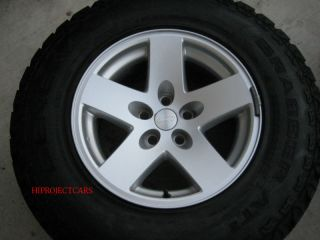 Factory Jeep Wrangler Rubicon 16 Wheels Rims Tires