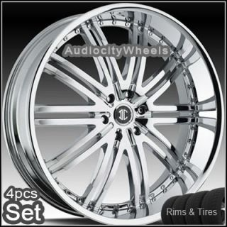 26inch Wheels Tires 300C Magnum Charger Lincoln Rims