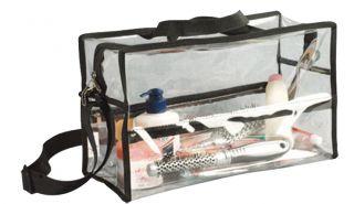 Seya PVC Clear Plastic Transparent Makeup Cosmetic Organizer Storage