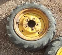 Antique Bolens Walk Behind Garden Tractor Rims Tires Parts