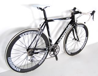 Cannondale Sytem Six Carbon Road Bike New Carbon Deep Dish Race Wheels