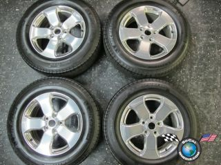 Jeep Grand Cherokee Factory 18 Wheels Tires Rims 9106 Polished