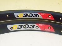 Pair 20 BMX Alex Xrims G303 Bicycle Rims Aluminum 6061 T6 Bike Parts