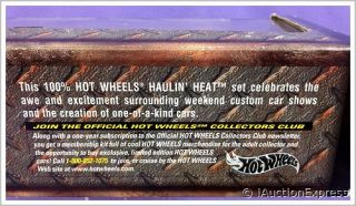 100 Hot Wheels Haulin Heat ★ Classic Auto Transport Truck Trailer